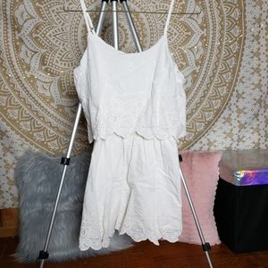 Cute White Romper